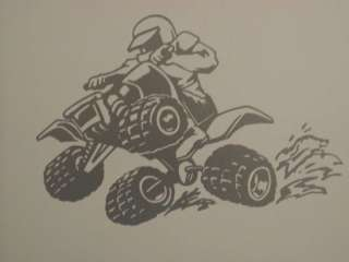 HUGE ATV QUAD Kids wall Art Boys Room Decal Decals 4x4