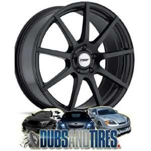 Inch 19x9.5 TSW wheels INTERLAGOS Matte Black wheels rims Automotive