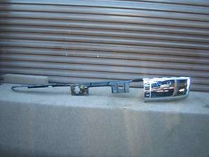 SIERRA CHEVY SILVERADO REAR CHROME BUMPER EXTENSION OEM 07 08 09 2010