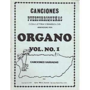 Canciones Puertorriquenas Con Letra Y Simbolos (Organo