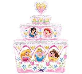 DISNEY PRINCESS Birthday balloons Cake Cinderella Party