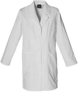 Baby Phat Signature Lab Coat in White