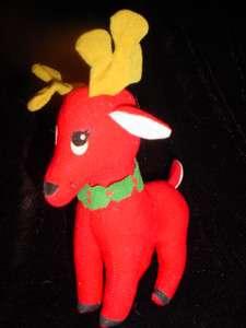 DREAM PETS Red Reindeer DAKIN Christmas Stuffed Plush Animal