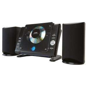 COBY CXCD377BLK SLIM MICRO CD PLAYER WITH AM/FM TUNER