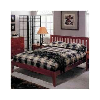 Alpine Furniture Portola Full Platform Bed in Light