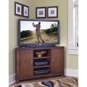 Home Styles Paris Mahogany Corner TV Stand   5540 07