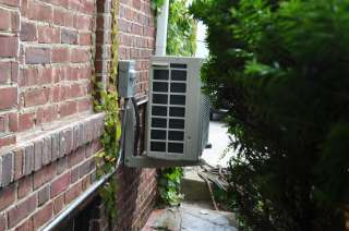 Dual Zone (9+9) 20 SEER Ductless Air conditioning heat pump