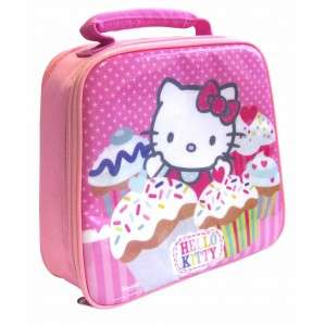 Hello Kitty Cup Cake OFFICIAL Lunch Insulated Bag Box