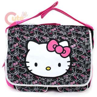 Sanrio Hello Kitty School Messenger Bag / Diaper Bag Big Face