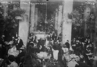 1900s photo Restaurant of Hotel Astor, New York