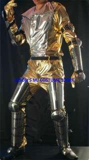 MICHAEL JACKSON HIStory.World.Tour STEEL LEG&ARM ARMOUR