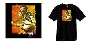 Jimi Hendrix Hard Rock hippie 60s 70s Woodstock S 3XL