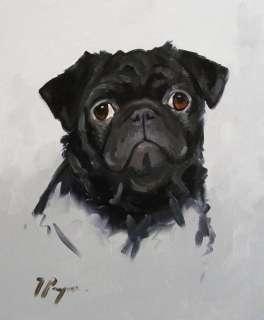 Commission an oil painting portrait pet dog , cat horse
