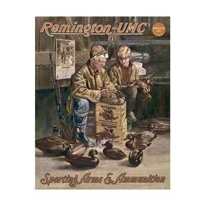 Remington UMC Hunting Duck Decoy Maker Retro Vintage Tin