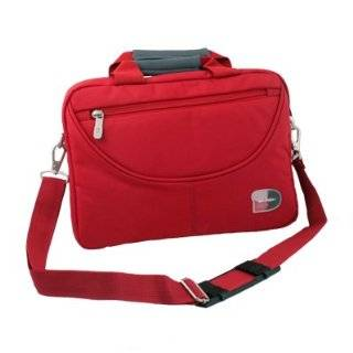 For 10.1 Acer W500 Laptop Carry Netbook Case Bag Cover (Red) by IDS