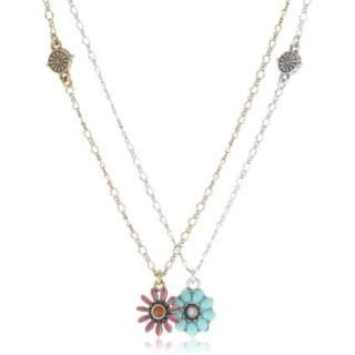 Lucky Brand Floral Best Friend Necklace   designer shoes, handbags