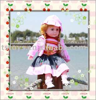 2011 new style music 24 inch doll,American doll,real baby doll