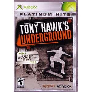 Tony Hawks Underground (Xbox) Games