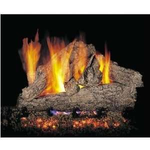 Peterson Gas Logs 18 Inch Rugged Oak Vented Propane Gas Log