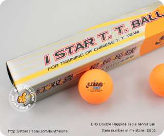 18PCS DHS 1 Star Table Tennis Ping Pong Balls C.T.T.A