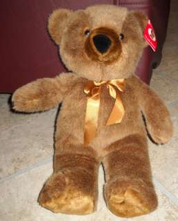 Ms Teddy Bear Brown Plush Stuffed Animal