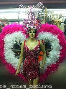 NeeNa C039 Vegas Showgirl Burlesque Stage Festival Cabaret Costume Set