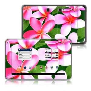Pink Plumerias Design Protective Decal Skin Sticker for LG
