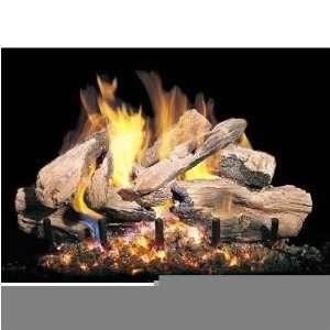 Peterson Gas Logs 18 Inch Charred Cedar Vented Propane Gas