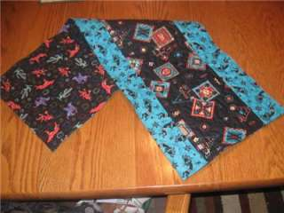 Handmade Table Runner Cherokee Southwest Navajo quilted