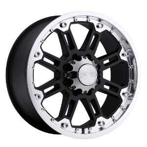 18x9 Black Rhino Rockwell (Gloss Black w/ Machined Lip) Wheels/Rims
