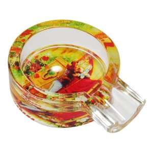 Gorgeous Clear Transparent Round Shape Romantic Romeo & Julieta