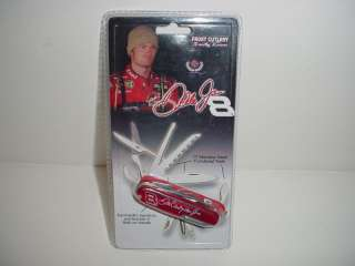 NASCAR SR/JR DALE EARNHARDT FOLDED/MULTI TOOL KNIFE
