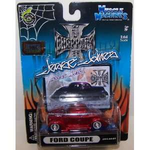 64 Scale Diecast West Coast Choppers Jesse James Series Ford Coupe