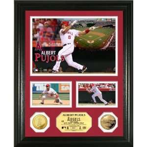 Angeles Angels Gold Coin Showcase Photo Mint Sports Collectibles