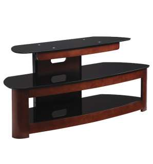 Vista Flat Panel TV Stand Cherry Wood & Glass TV2249DC