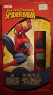 Spiderman Lenticular Valentines Day Cards 18 ct