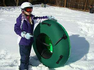 Tube Snow Tube Cover Sled Sledding Snow Tubing Clear Creek Tubes