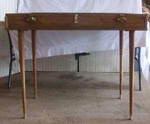 Wood Glass Dealer Display Case w/ Legs
