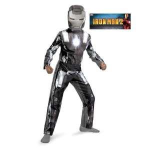 Classic Iron Man 2 War Machine Costume Size Medium